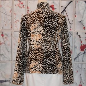 Kim Rogers Jackets & Coats - 😍Fabulous KIM ROGERS Animal Print Fleece Jacket😍